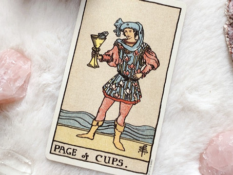 Valete de Copas : Carta do Tarot