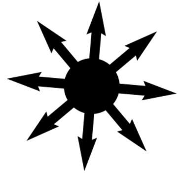 estrela do caos