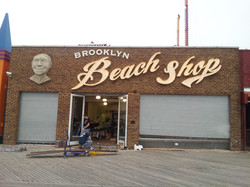 the beach shop storefront