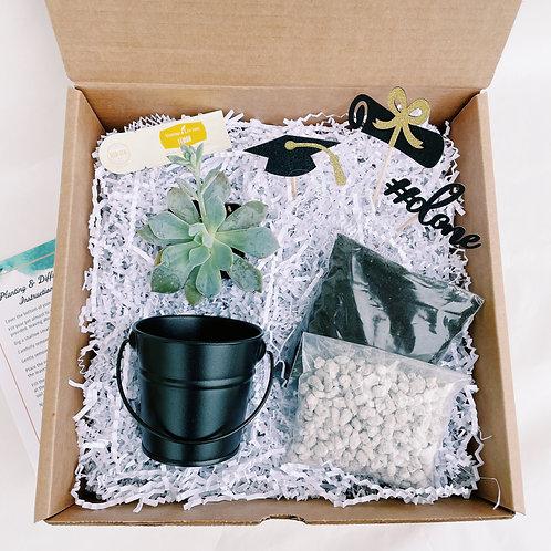 Graduation #1   DIY Succulent Diffuser Gift Box