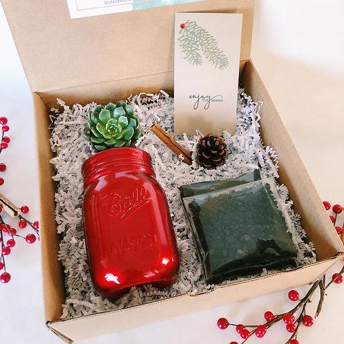 Enjoy The Season | DIY Succulent Diffuser Gift Box