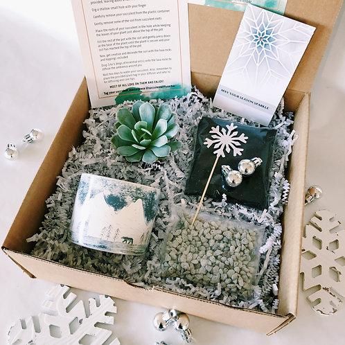 It's a Wintery Wonderland   DIY Succulent Diffuser Gift Box