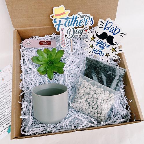 Best Dad | DIY Succulent Diffuser Gift Box