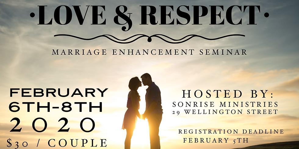 Love & Respect Marriage Enhancement Seminar