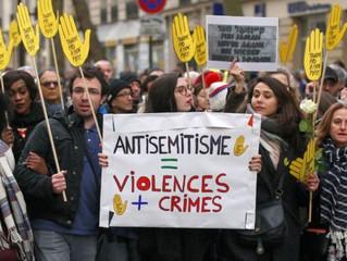 Judiska Centralrådet är oroat över ökad antisemitism i Sverige