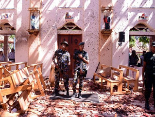 Judiska Centralrådet uttrycker sympati med terroroffren och deras anhöriga på Sri Lanka