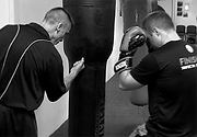 Coach Paul Demonstrates Heavy Bag BW.png