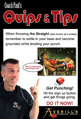 Coach Paul Quips & Tips Straight Punch
