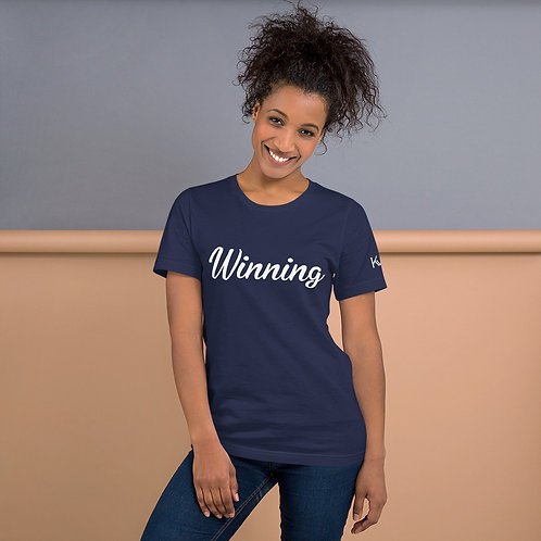 The WIN PROJECT Short-Sleeve Unisex T-Shirt