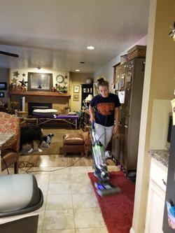 Kayla Vacuums