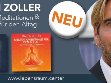 Ab sofort im Handel: Meine zwei neuen Meditation CDs!