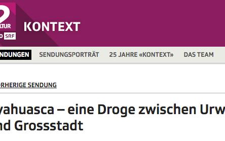 """Ayahuasca – eine """"Droge"""" zwischen Urwald und Grossstadt"""