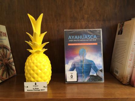 Die goldene Ananas für den 3. Platz!