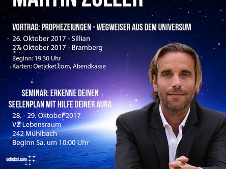 2. Österreich-Tournee Herbst 17!