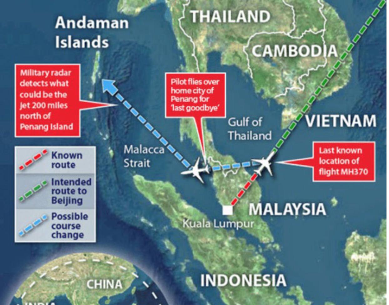 MISSING FLIGHT MH370!
