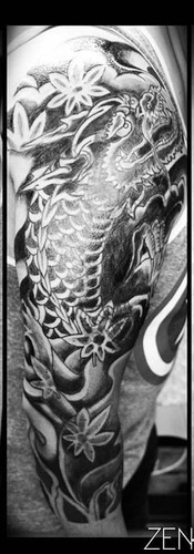 Dragon (Cover Up Tattoo)