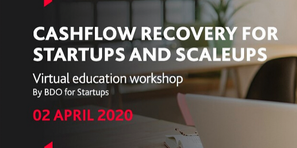 Workshop - Cashflow Recovery for Startups and Scaleups