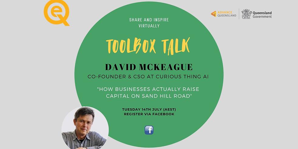 OQCE Toolbox Talk with David McKeague
