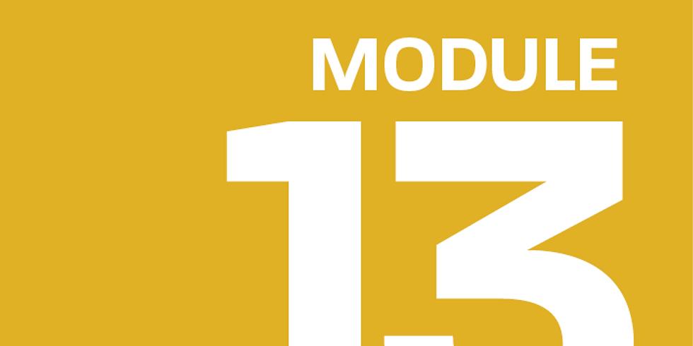 Module 13: Advice for Teams
