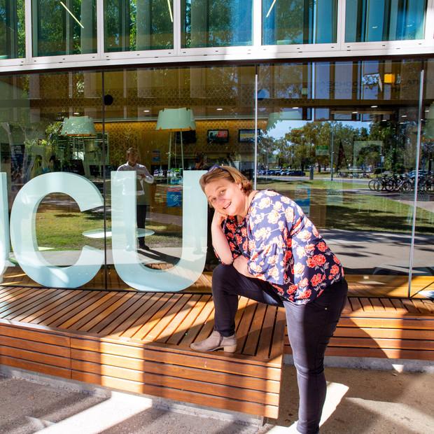 Leanne Kemp at JCU Townsville