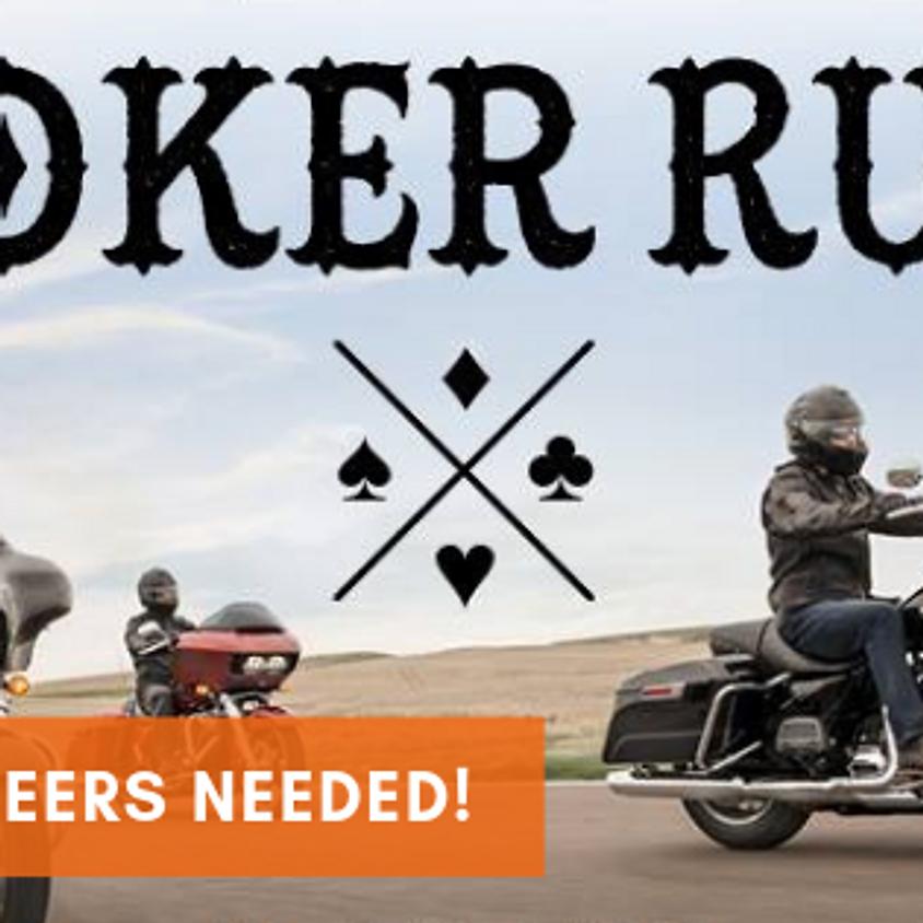Volunteers Needed - Suncity Harley Davidson Poker Run 15 Jun 19
