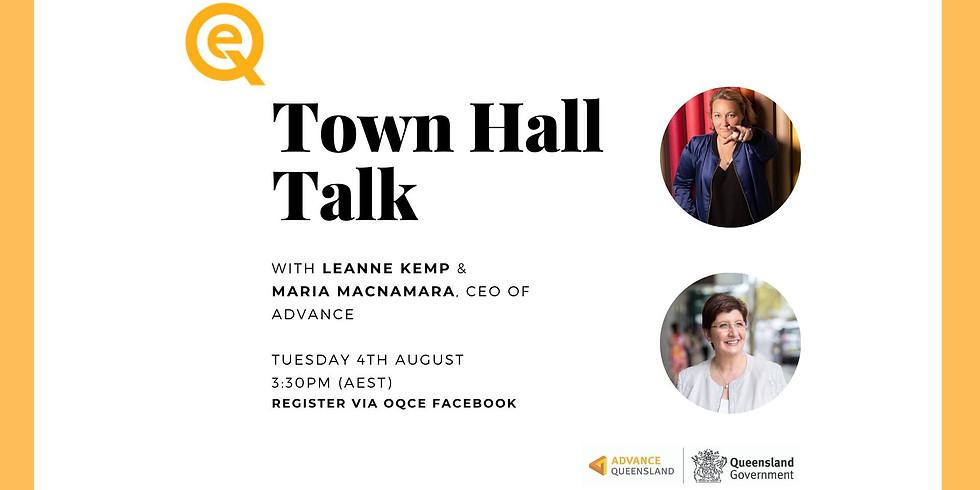 OQCE Town Hall Talk with Maria Macnamara, CEO of Advance