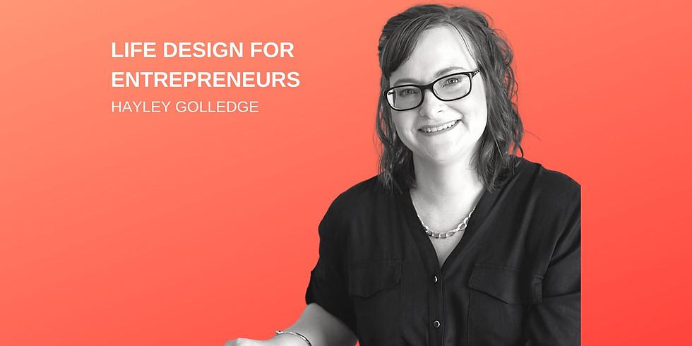Life Design for Entrepreneurs