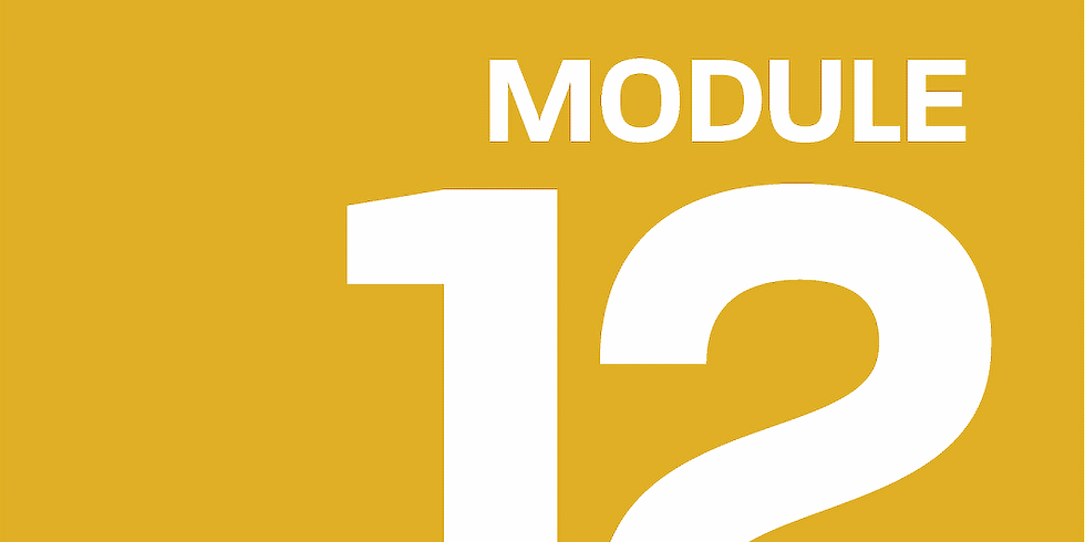 Module 12: How to Pitch your Company