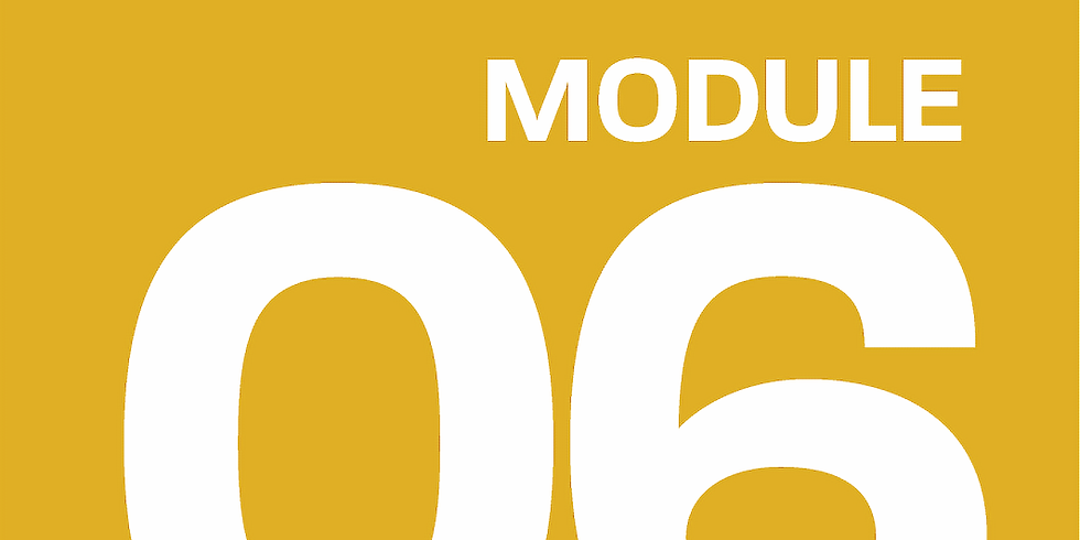 Module 06: Building and Launching your product