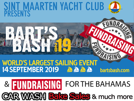 Bart's Bash regatta is the first SMYC race of the sailing season and a fundraiser for the Bahamas