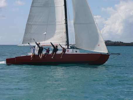 Fujin, Arawak, Tryst and Ineffable Earn Top Prizes in First Annual Caribbean Multihull Challenge