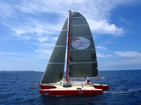 Tryst, an iconic Caribbean Multihull, entered as first participant of Multihull Challenge!