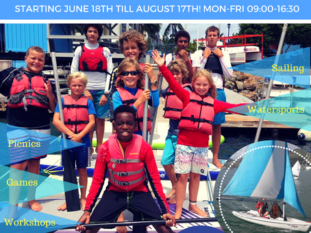 Sign up for Sailing Summer Camp 2018! (18 June - 17 August)