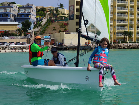 Over 65 women introduced to sailing during the Steering the Course Women's Sailing Festival