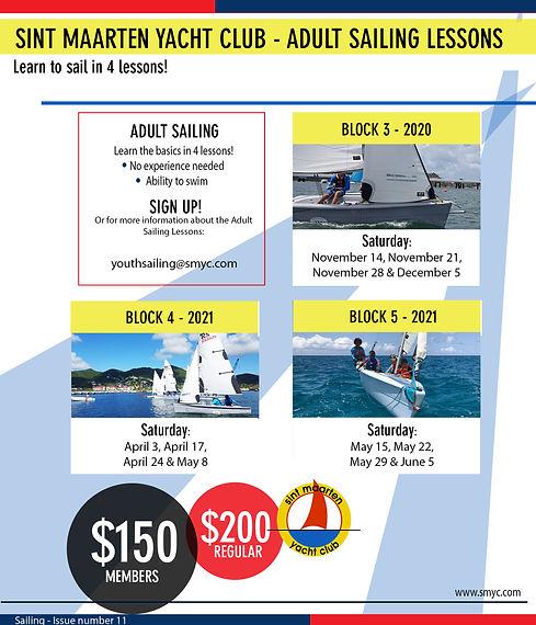 Sailing- Adult Sailing 2020-2021 (block