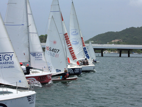 Wet, windy and wonderful! The best way to describe the 7th edition of the Lagoonies Regatta