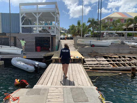 The Sint Maarten Yacht Club is making steady progress