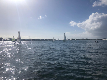 Beautiful day out on the water with twenty-three competitors during the Hoedemaker Day 2