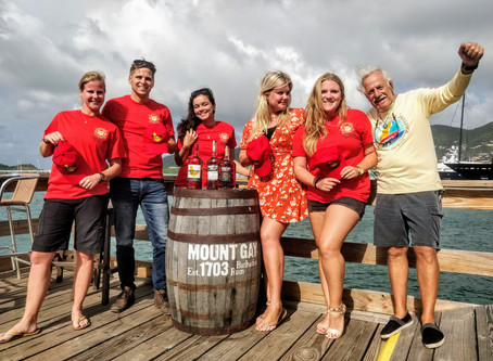 "The Caribbean Multihull Challenge, an official Mount Gay Rum ""Red Cap Regatta"""
