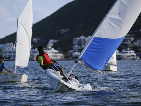 34 boats in five classes on the water in Stuyvesant Sail Series