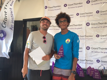 Shifty winds throughout the Final Grant Thornton Dinghy Series couldn't spoil the fun!
