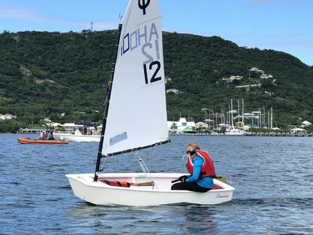 Two days of intense racing at the Caribbean Dinghy Championships!