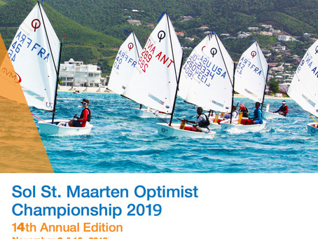 The 14th Annual Sol St. Maarten Optimist Championship registration is now open!