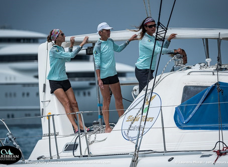 Fope Women's Sailing Team Highlighted 2nd Annual Caribbean Multihull Challenge