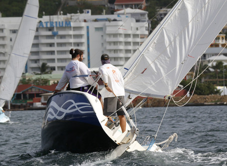 Spectator friendly sailing in the Schoonbeek regatta