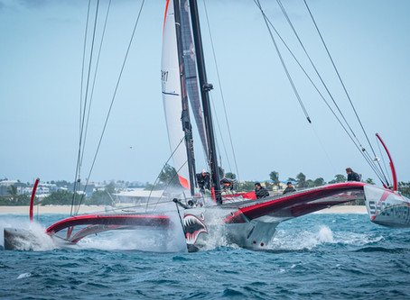 The Boom Went Boom: How a Crazy Day 2 of the Caribbean Multihull Challenge Went Down on Shockwave