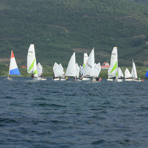 Thirty-four competitors competed in the first racing day of the Soon Series.
