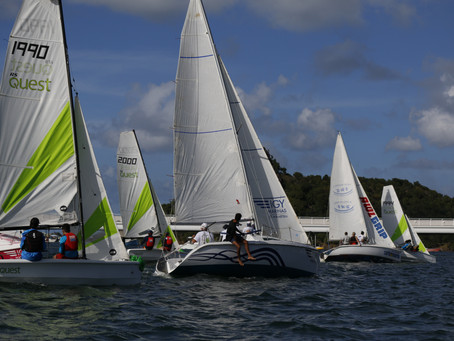 First Day of the Sint Maarten Yacht Club's Hoedemaker Series sailed in excellent conditions