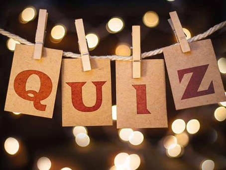 Monthly Tuesday Pub Quiz Night!