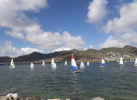 Sailors blew off the cobwebs in first post-COVID-19 dinghy race in excitingly windy conditions